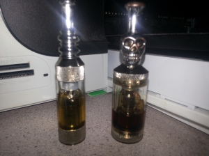 Left: New Tank Smaller size Vivi-Nova. Right: Large Vivi-Nova tank.