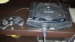 Sega Saturn front