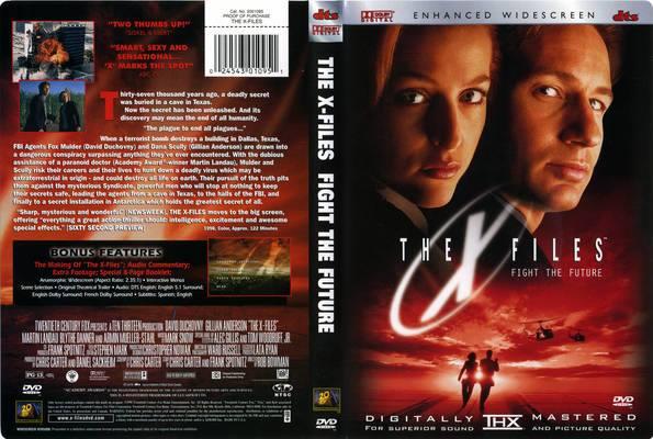 XFiles FFF DVD cover
