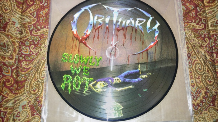 Obituary Slowly We Rot Side 1