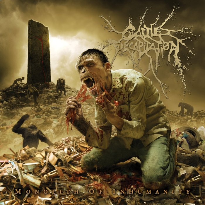 Cattle Decap Monolith Of Inhumanity cover