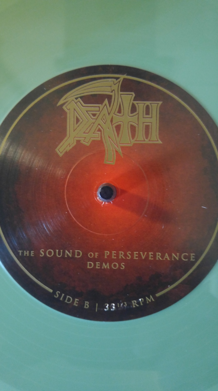 Death Sound of Perseverance side B Mi-print demos