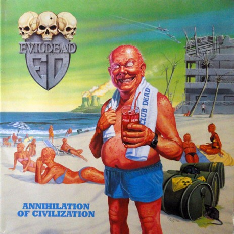 Evildead Annihilation of Civilization Cover