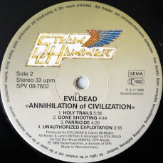 Evildead Annihilation of Civilization Vinyl 2
